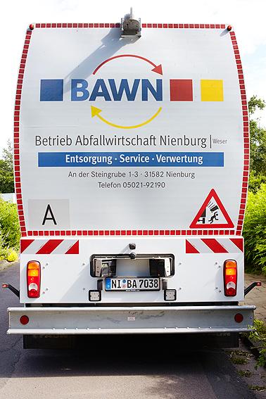 Fahrzeug Rückansicht©BAWN